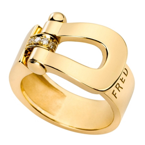 Bague Force 10 Or Jaune Ruban Fred