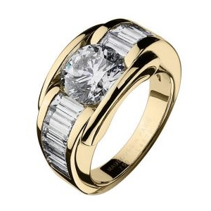 Bague Alessandra Or Jaune Diamants Mauboussin