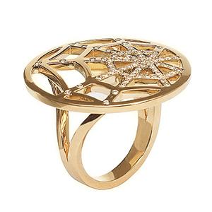 Bague Attrape moi si tu m'aimes Or Jaune Diamants Chaumet