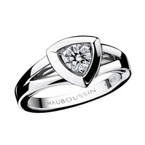 Bague Dream and Love Or Blanc Diamant Mauboussin
