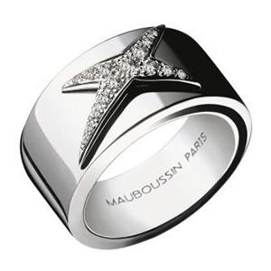 Bague Étoiles Divines Or Blanc Diamants Mauboussin