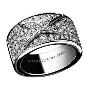 Bague Mes Nuances à Toi Or Blanc Pavage Diamants Mauboussin