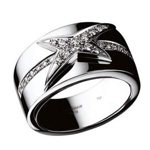 Bague Mes Nuances à Toi Or Blanc Semi Pavage Diamants Mauboussin