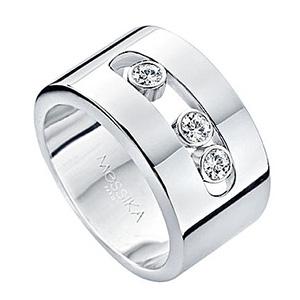 Bague Move en Or Blanc et Diamants de Messika