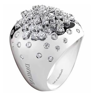 Bague Paradise en Or Blanc et Diamants de Damiani