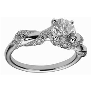 Bague Petit Calin en Or Blanc et Diamants de Dior Joaillerie