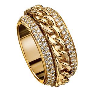 Bague Possession Celebration en Or Jaune et Diamants de Piaget