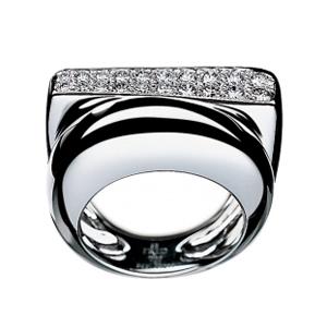 Bague Success Or Blanc 2 Rangs Diamants Fred
