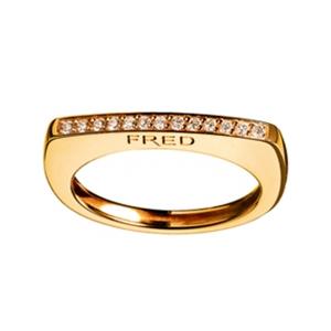 Bague Success Skin Or Jaune Diamants Fred