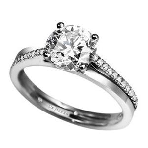 Bague The Promise en Platine et Diamants de De Beers