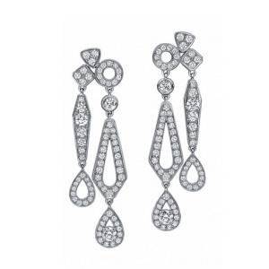 Boucles d'Oreilles Joséphine Diamants Grand Modèle de Chaumet