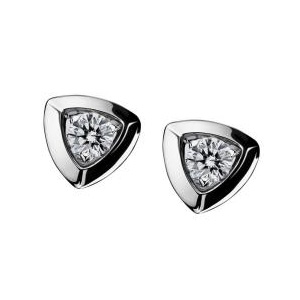 Boucles d'Oreilles Dream and Love Or Blanc Diamant Mauboussin