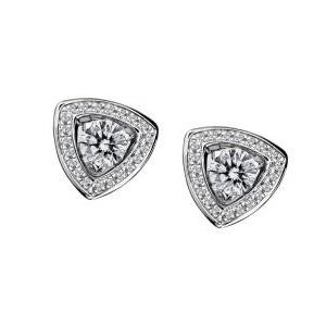 Boucles d'Oreilles Dream and Love Pavage Diamants Mauboussin