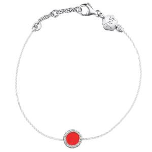 Bracelet Nobless en Argent, Émail et Diamants Vanessa Tugendhaft