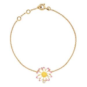 Bracelet Diorette Marguerite Diamant Or Jaune Dior Joaillerie