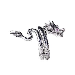 Bracelet Dragon en Vermeil et Diamants de AS29 & Pascale Renaud