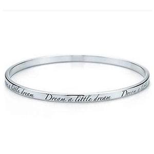 Bracelet Dream a Little Dream en Or Blanc de Tiffany & Co