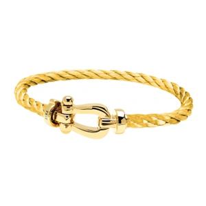 Bracelet Force 10 Or Jaune Câble Jaune Fred