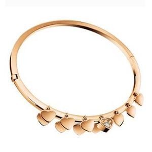 Bracelet Happy Diamond en Or Rose et Diamant de Chopard