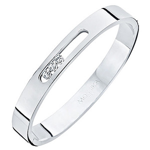 Bracelet Move en Or Blanc et Diamants Mobiles de Messika