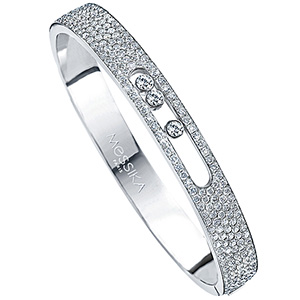 Bracelet Move en Or Blanc et Pavage Diamants de Messika