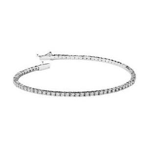 Bracelet Rivière d'amour Or Blanc Pavage Diamants Mauboussin