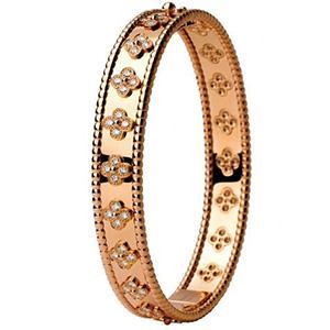 Bracelet Ruban en Or Rose et Diamants de Van Cleef & Arpels