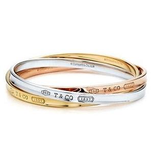 Bracelet Tiffany 1837 Argent Or Jaune Or Rose Tiffany & Co