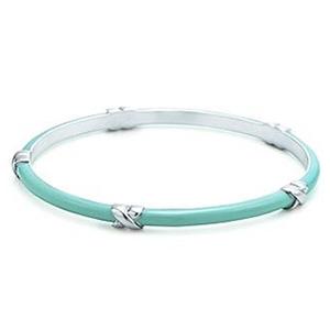 Bracelet Tiffany Signature en Argent et Émail de Tiffany & Co