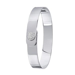 Bracelet Vertige Perle de Diamants Or Blanc Dinh Van