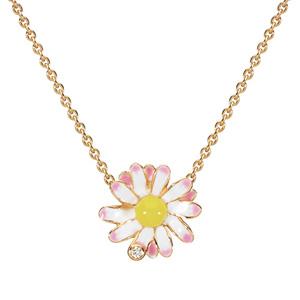 Collier Diorette Marguerite Diamant Or Jaune Dior Joaillerie