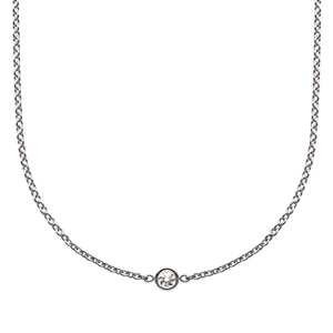 Collier Mimioui Diamant Or Blanc Dior Joaillerie
