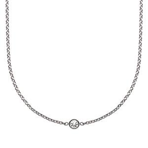 Collier Mimioui Diamant Or Blanc Dior Joaillerie