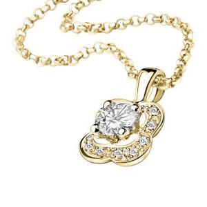 Pendentif Chance of Love Diamants Or Jaune Mauboussin