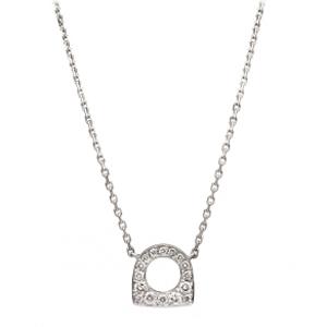 Pendentif Success Mini Or Blanc Diamants Fred