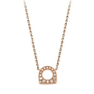 Pendentif Success Mini Or Rose Diamants Fred