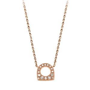 Pendentif Success Mini Or Rose Diamants Fred