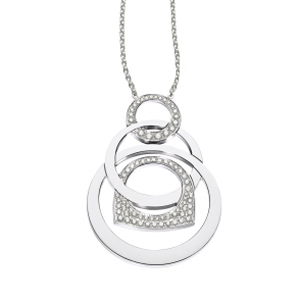 Pendentif Success Mobile Or Blanc Diamants Fred