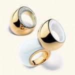 Bagues: Or rose, Diamants et Kogolong