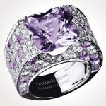 Bague Sexy pour toi Mauboussin Or gris, amethyste, diamants. 15.590€