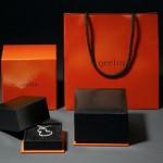 Packaging des bijoux Qeelin.