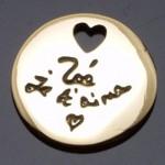Médaille Message d'Amour