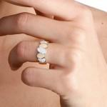 Bague Pépita 2 Ors et Diamants - 590€