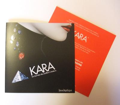 Invitation pour le Salon Kara 2008 et la Soirée VIP.