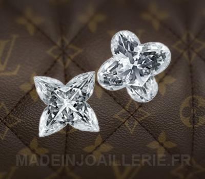 Diamants monogramme Louis Vuitton.