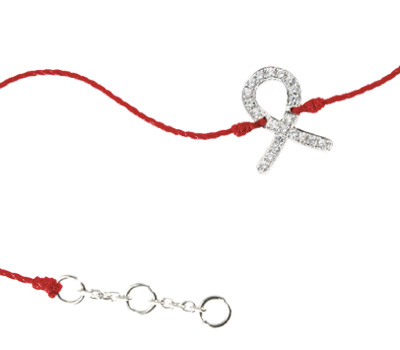 Bracelet Redline Diamants pour Sidaction.