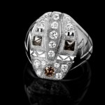 Bague De Beers collection Amulets en Diamants.