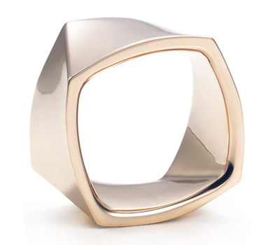 Bague Torque Or Rose - F.Gehry et Tiffany&Co.