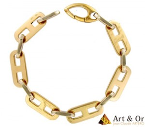Bracelet Chaine Or - Art & Or.