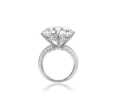 bague diamant chic
